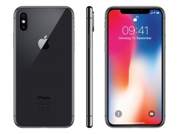 iPhone X 64GB spacegrau